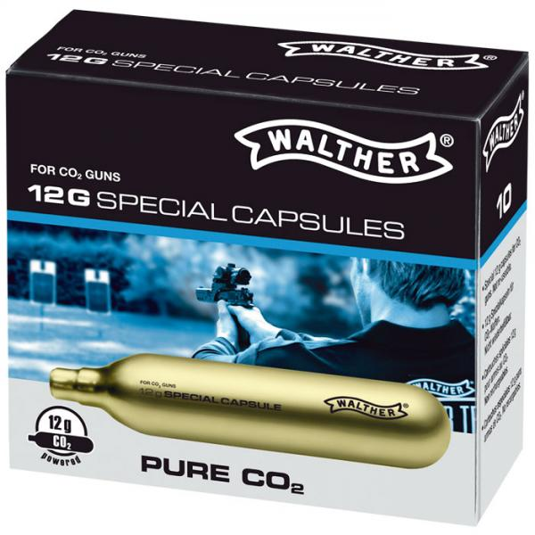Walther Co2 capsules 12g (PURE Co2)