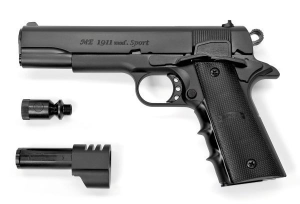 ME 1911 Sport, Black 9mm P.A.K.