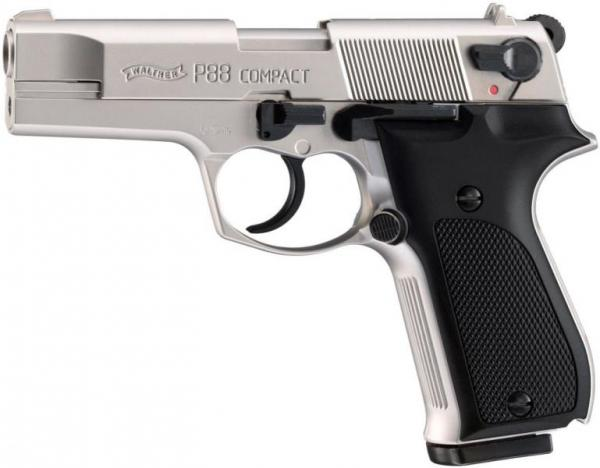 Walther P88 nickel/black 9mm P.A.K
