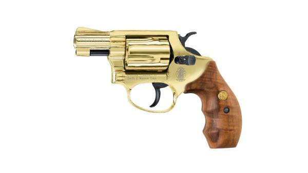 Smith & Wesson Chiefs Special Gold 9mm R.K. Alarmrevolver