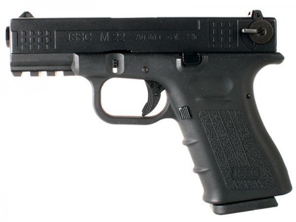 ISSC Co2 air pistol of model M22 Ka. 4.5 mm BB / blow back