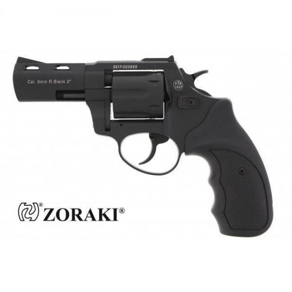 Zoraki R2 3'' Black Alarmrevolver 9mm R.K.
