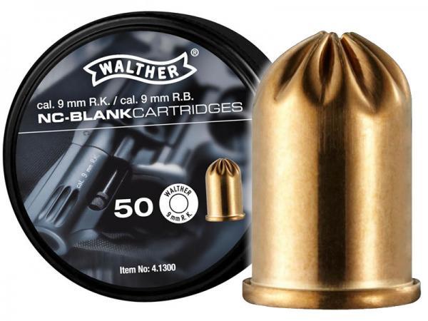 Walther Platzpatronen 9mm R.K. 50st