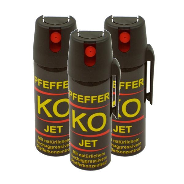 Pepperspray KO Jet 3x