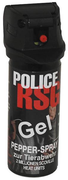 Pepperspray Gel RSG-Police