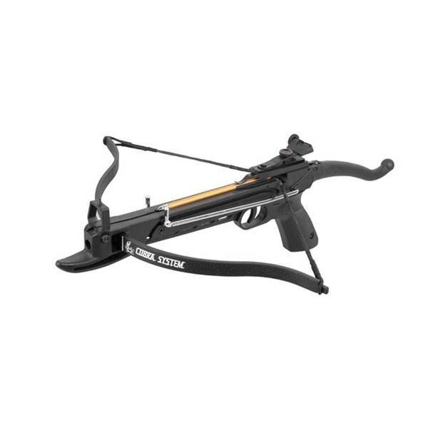 Pistolen Armbrustpistole COBRA 80lbs mit Knick Spannmechanismus