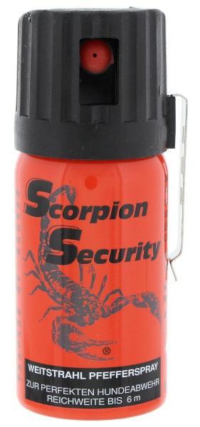 Scorpion Pepperspray 40ml (6 meter Jet)