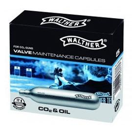 Walther onderhouds capsules CO2+OIL