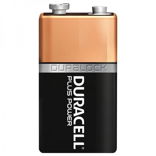 9 Volt Block (E/6LR61)- DURACELL Batterie