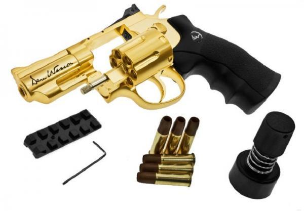 ASG Revolver Co2 Dan Wesson Gold Edition 2,5``