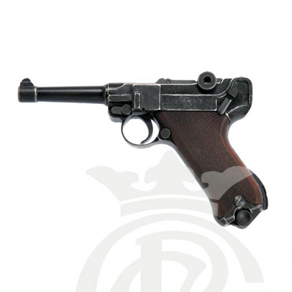 ME P08 9mm P.A.K. (Antik Look/Houten handgreep)