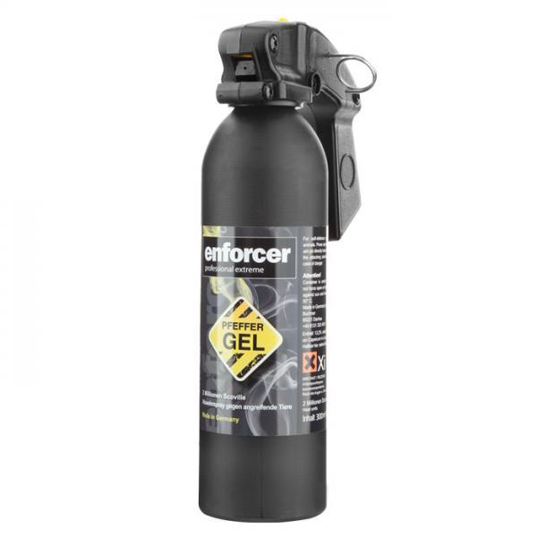 Enforcer-Pfeffer Gel 300 ml in Feuerlöscher Form