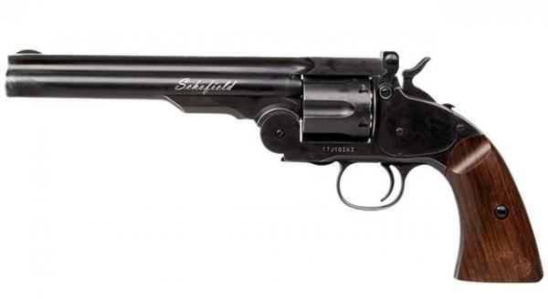 Schofield 6'' Revolver Aging Black .177