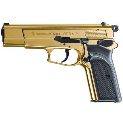 Browning GPDA9 gold 9mm PAK