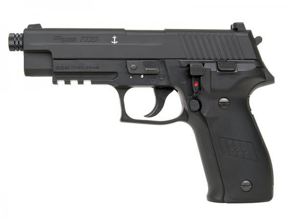 Sig Sauer P226 Blowback 4,5mm BB, Diabolo