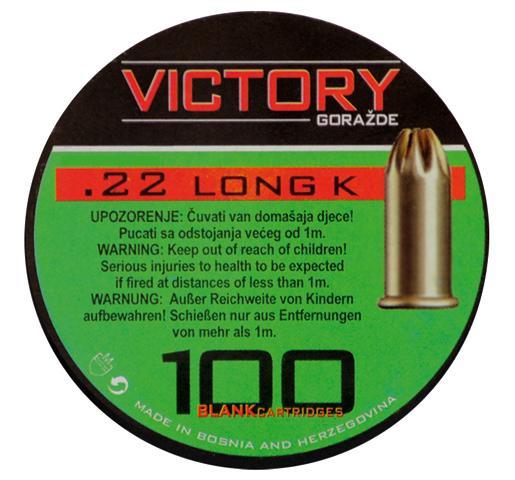Victory .22 lang Knal Patronen