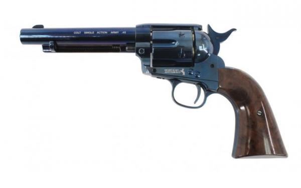 """Colt SAA .45 5,5"""" 4,5mm, Blued"""