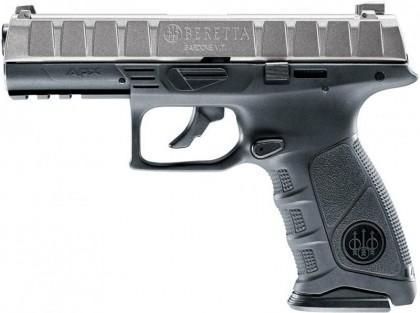Beretta APX Silver Slide , 4,5mm Blowback