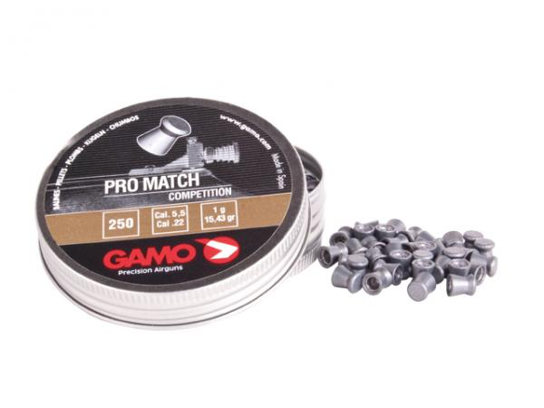 "Pro-Match Diabolo 5,5 mm Flachkopf glatt ""Gamo"""