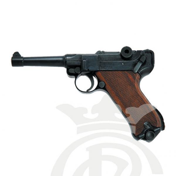 ME P08 9mm P.A.K. (Houten handvat)